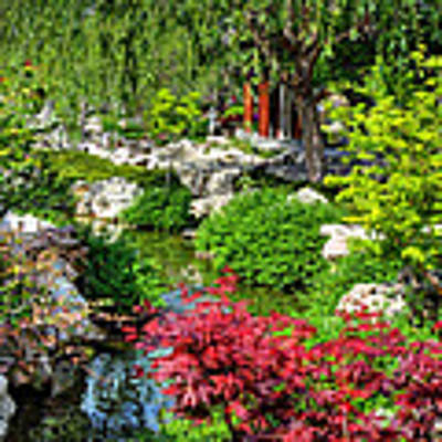 San Marino - Huntington Botanical Gardens 005 Poster by Lance Vaughn