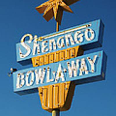 Shenango Bowl-a-way Poster by Jim Zahniser