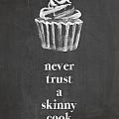 Skinny Cook Poster by Nancy Ingersoll