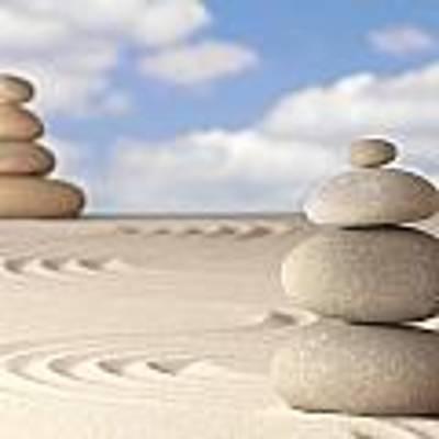 Spirituality And Balance Poster by Dirk Ercken
