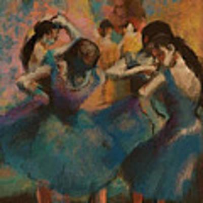 Standing Ballerinas Poster by Lauren Heller