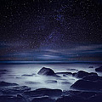 Starry Night Poster by Jorge Maia