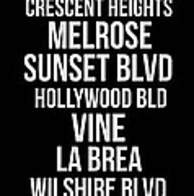 Streets Of Los Angeles 2 Poster