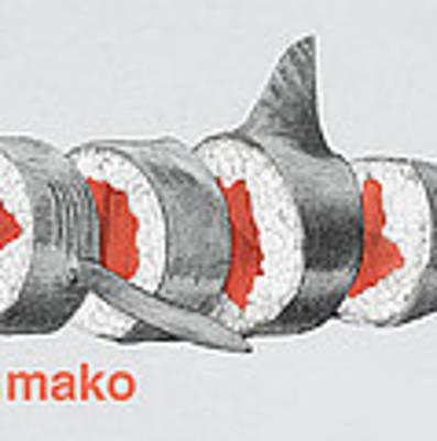 Sushi Mako Poster