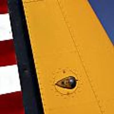 Tail Detail Of Vultee Bt-13 Valiant Poster