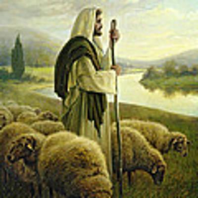 The Good Shepherd Poster by Greg Olsen