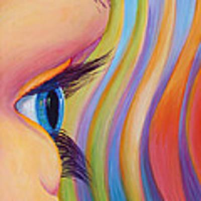 Through The Eyes Of A Child Poster by Sandi Whetzel