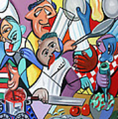 To Many Cooks In The Kitchen Poster