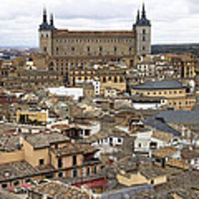 Toledo Spain Cityscape Poster by Nathan Rupert