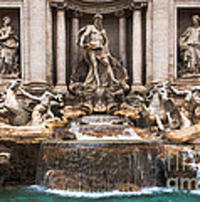 Trevi Fountain Poster by John Wadleigh