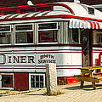 Tumble Inn Diner Claremont Nh Poster by Edward Fielding