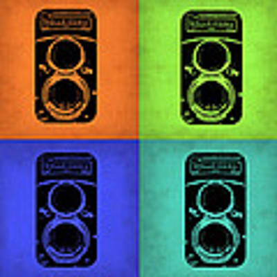 Vintage Camera Pop Art 1 Poster by Naxart Studio