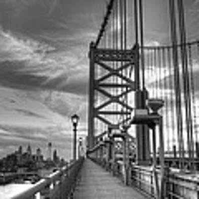 Walking To Philadelphia Poster by Jennifer Ancker