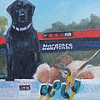 Waterfowler Poster by Judy Fischer Walton