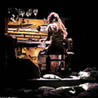 Weird Live Piano Poster by Stwayne Keubrick