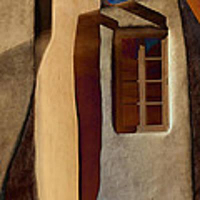 Window De Santa Fe Poster
