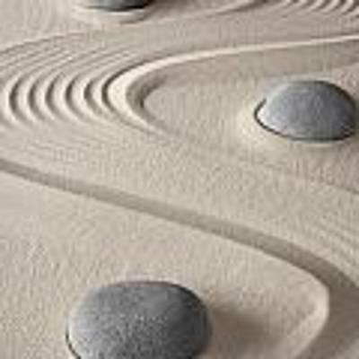 Zen Garden Poster by Dirk Ercken