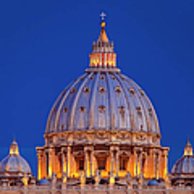 Dome San Pietro Poster by Brian Jannsen