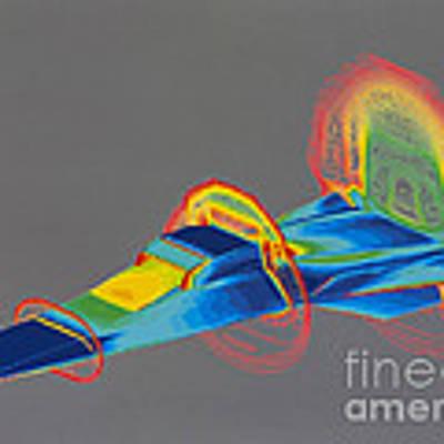 Hyperx Hypersonic Aircraft Poster