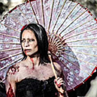 An Asian Zombie Poster by Stwayne Keubrick