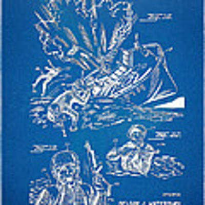 Bulletproof Patent Artwork 1968 Figures 18 To 20 Poster
