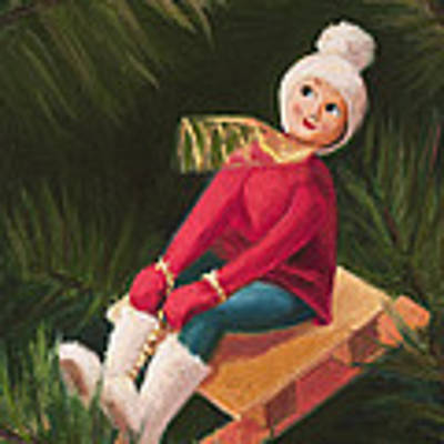 Jolly Old Elf Poster by Joe Winkler