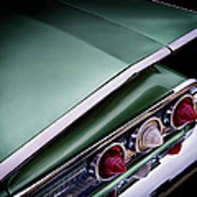 Metalic Green Impala Wing Vingage 1960 Poster