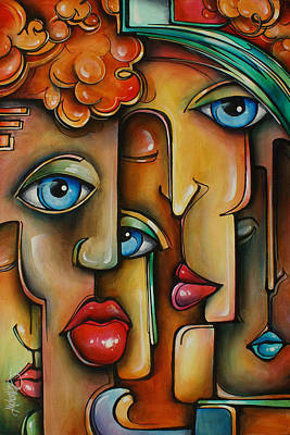 ' Blend ' Poster by Michael Lang