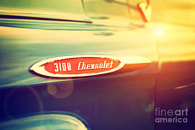 3100 Chevrolet Poster by Tim Gainey