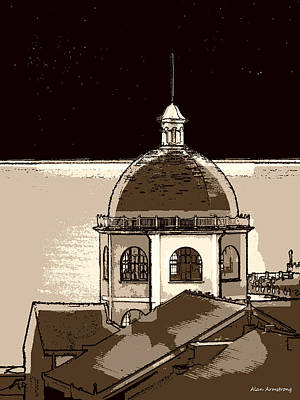 # 6 The Dome Cinema Worthing Uk Poster by Alan Armstrong