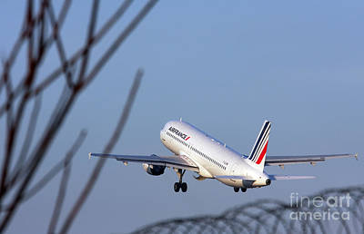 Air France Airbus A320 - Msn 491-002 - F-gjvw  Poster
