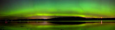 Aurora Over The Beauly Firth Poster