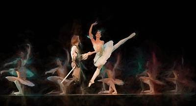 Ballerina  Poster by Louis Ferreira