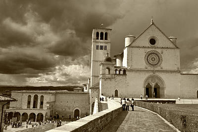 Poster featuring the photograph  Basilica Of San Francesco by John Hix