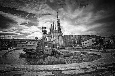 Dismaland Castle Poster by Jason Green
