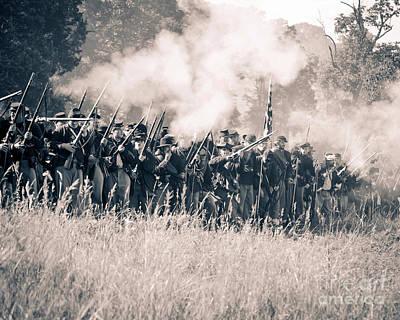 Gettysburg Union Infantry 9360s Poster