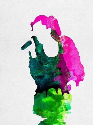 Gwen Watercolor Poster by Naxart Studio