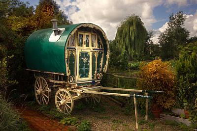 Gypsy Caravan Poster by Thanet Photos