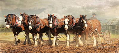 Horse Power Poster by Trudi Simmonds