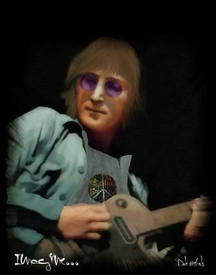 John Lennon...imagine Poster