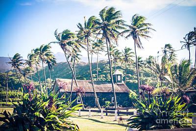 Poster featuring the photograph  Lanakila 'ihi'ihi O Iehowa O Na Kaua Church Keanae Maui Hawaii by Sharon Mau