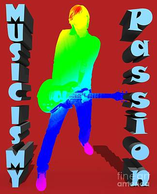 Music Is My Passion Poster