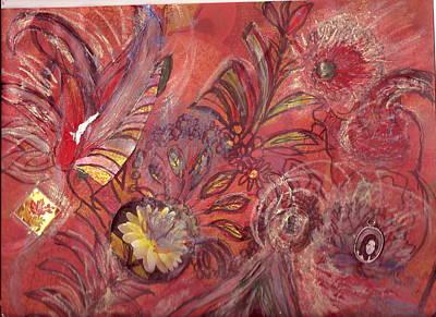 No Central Theme Poster by Anne-Elizabeth Whiteway