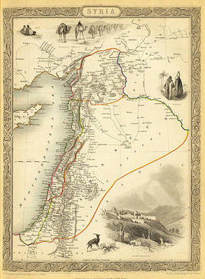Ottoman Syria Poster by Celestial Images