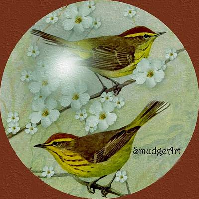 Palm Warbler Poster by Madeline  Allen - SmudgeArt