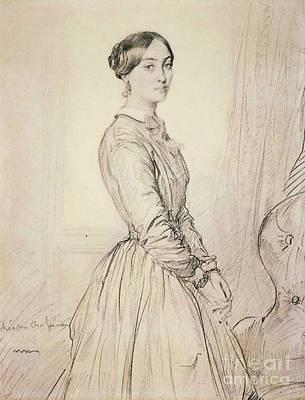 Portrait Of Mme Borg De Balsan Poster