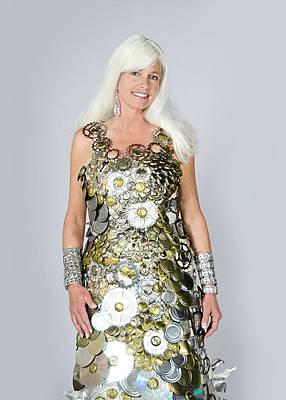 Sara In Clockwork Dragon Dress  Poster