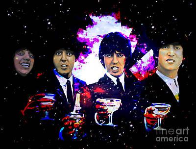 The Beatles Poster by Andrzej Szczerski