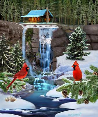 The Cardinal Rules Poster by Glenn Holbrook