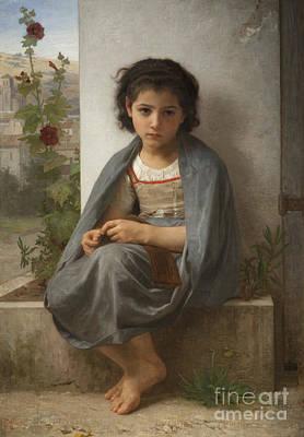 The Little Knitter Poster